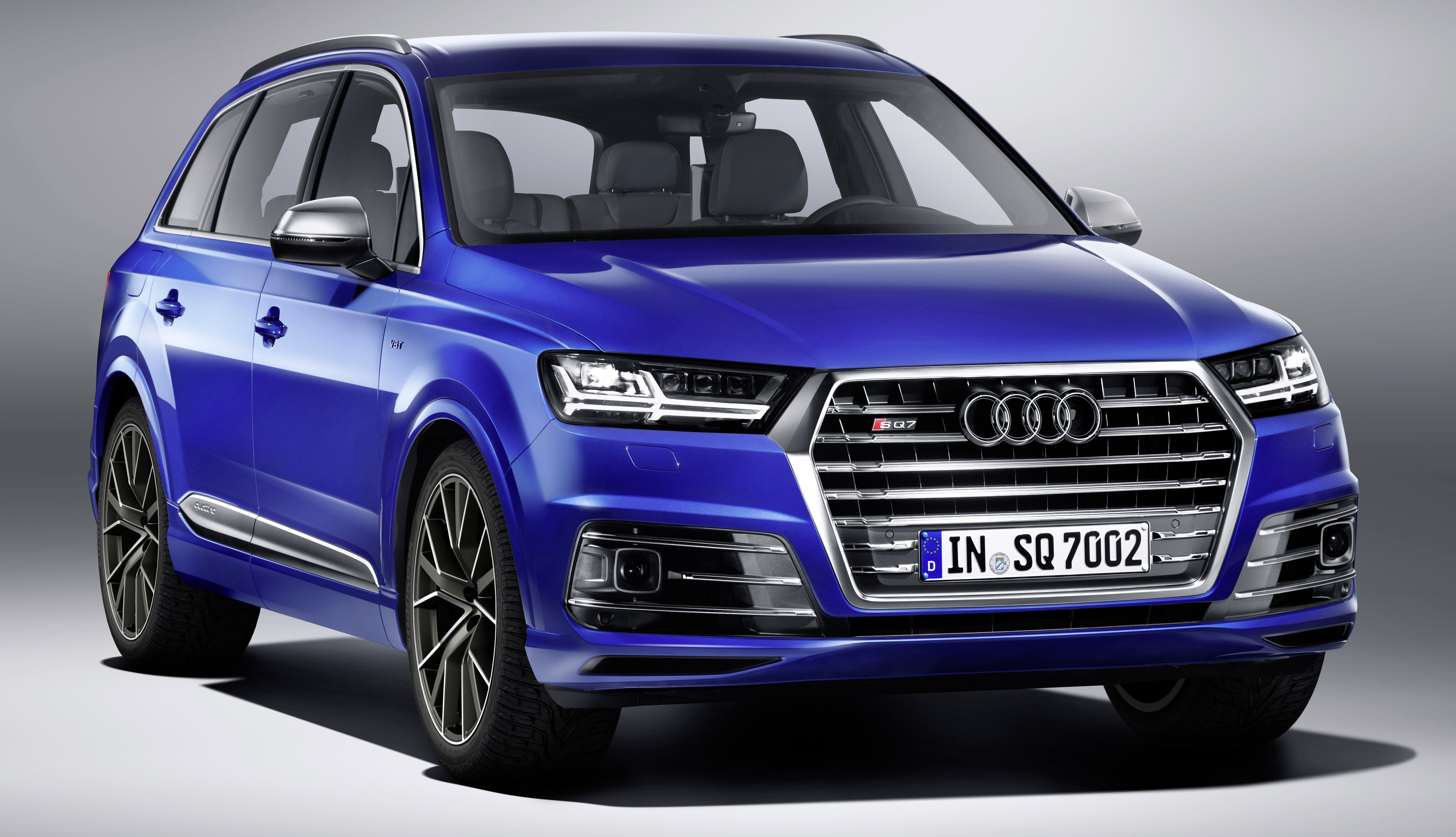 Audi Sq7 Tdi First Production Car With Electric Turbo