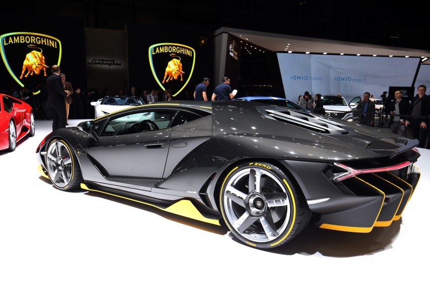 Lamborghini Centenario debuts – 770 hp, RM8 million Image #452328