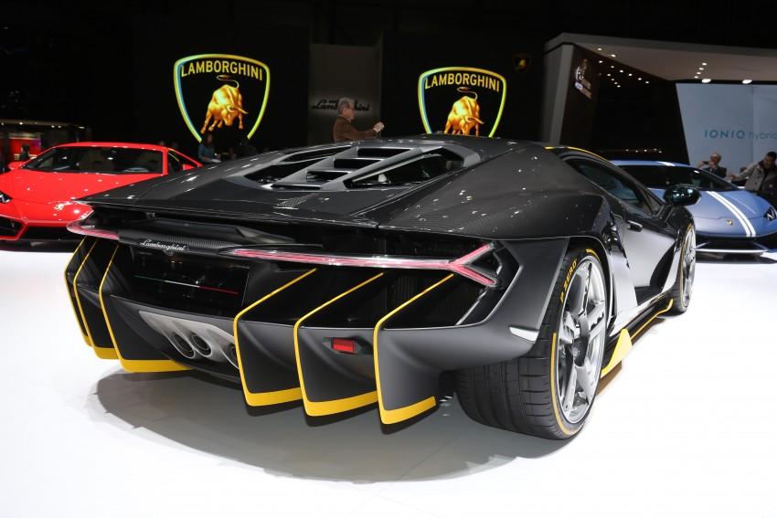 Lamborghini Centenario debuts – 770 hp, RM8 million Image #452332