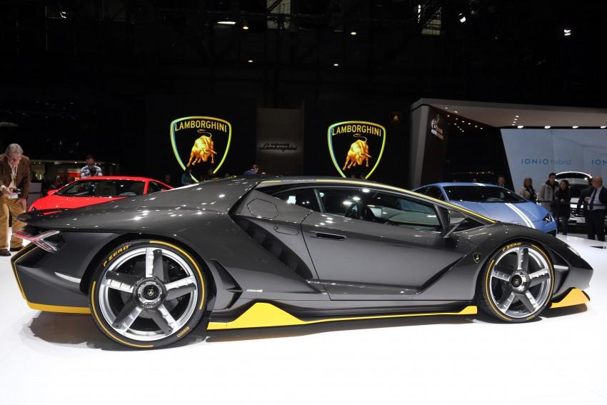 Lamborghini Centenario debuts – 770 hp, RM8 million Image #452331