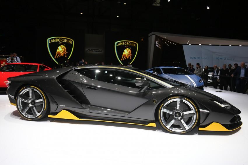 Lamborghini Centenario debuts – 770 hp, RM8 million Image #452329
