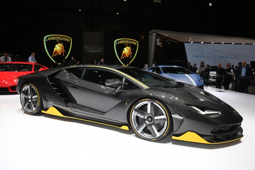 Lamborghini Centenario debuts – 770 hp, RM8 million Image #452327