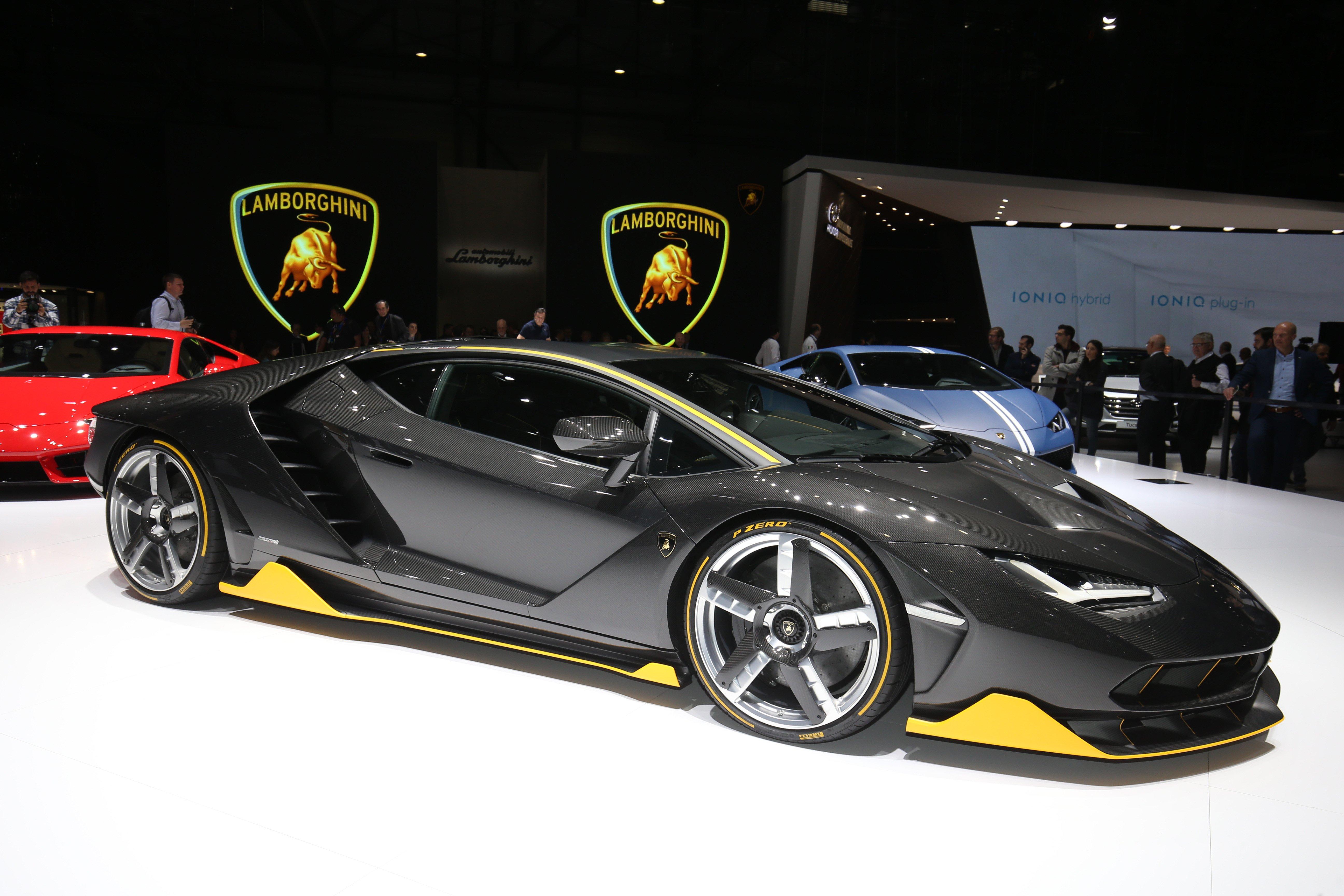 Lamborghini centenario key