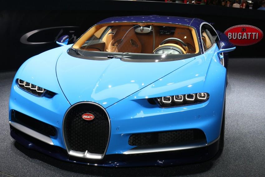 Bugatti Chiron debuts – 1,500 PS, 1,600 Nm, 420 km/h Image #452320
