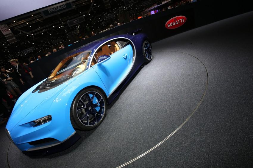 Bugatti Chiron debuts – 1,500 PS, 1,600 Nm, 420 km/h Image #452316