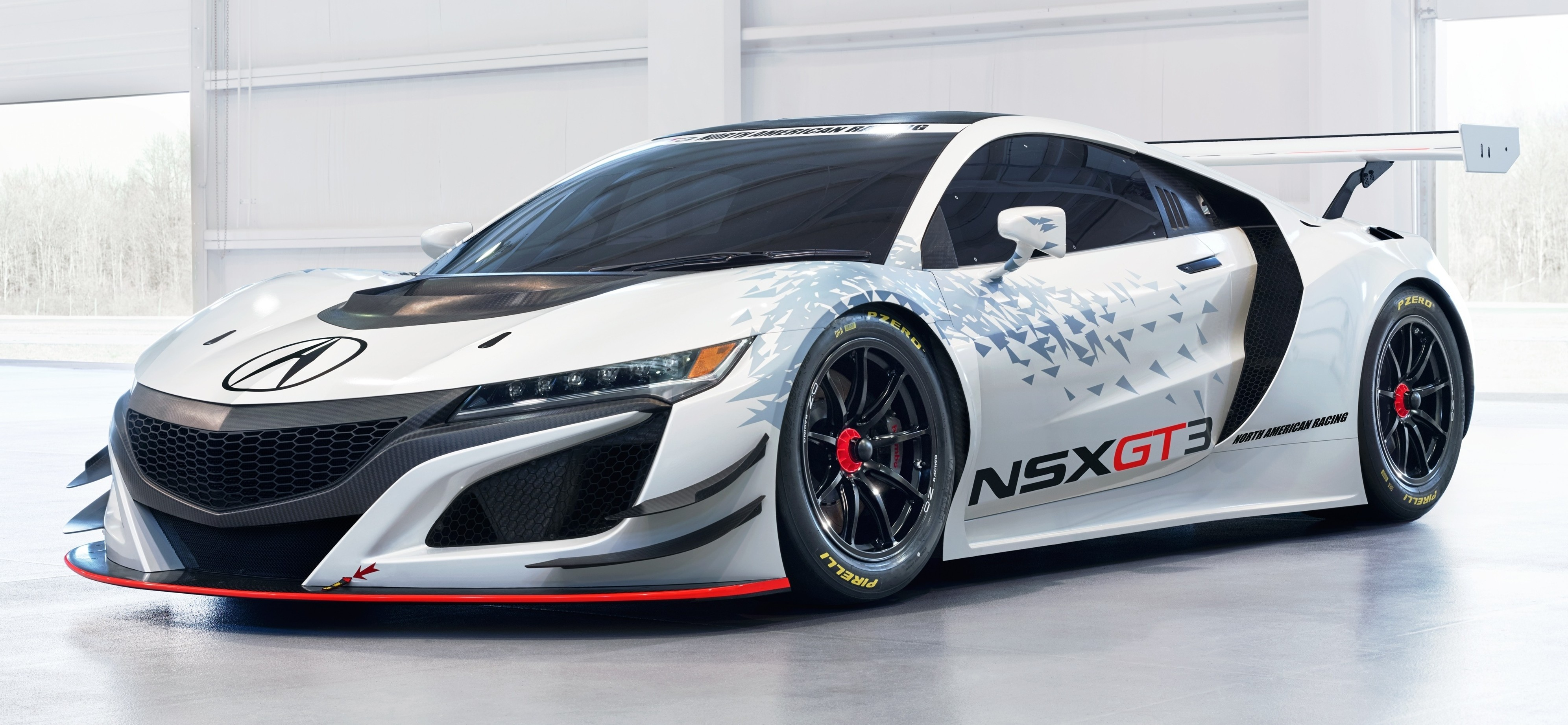 Acura Nsx Gt Race Car