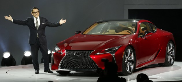 All-New Lexus LC 500 Word Debut