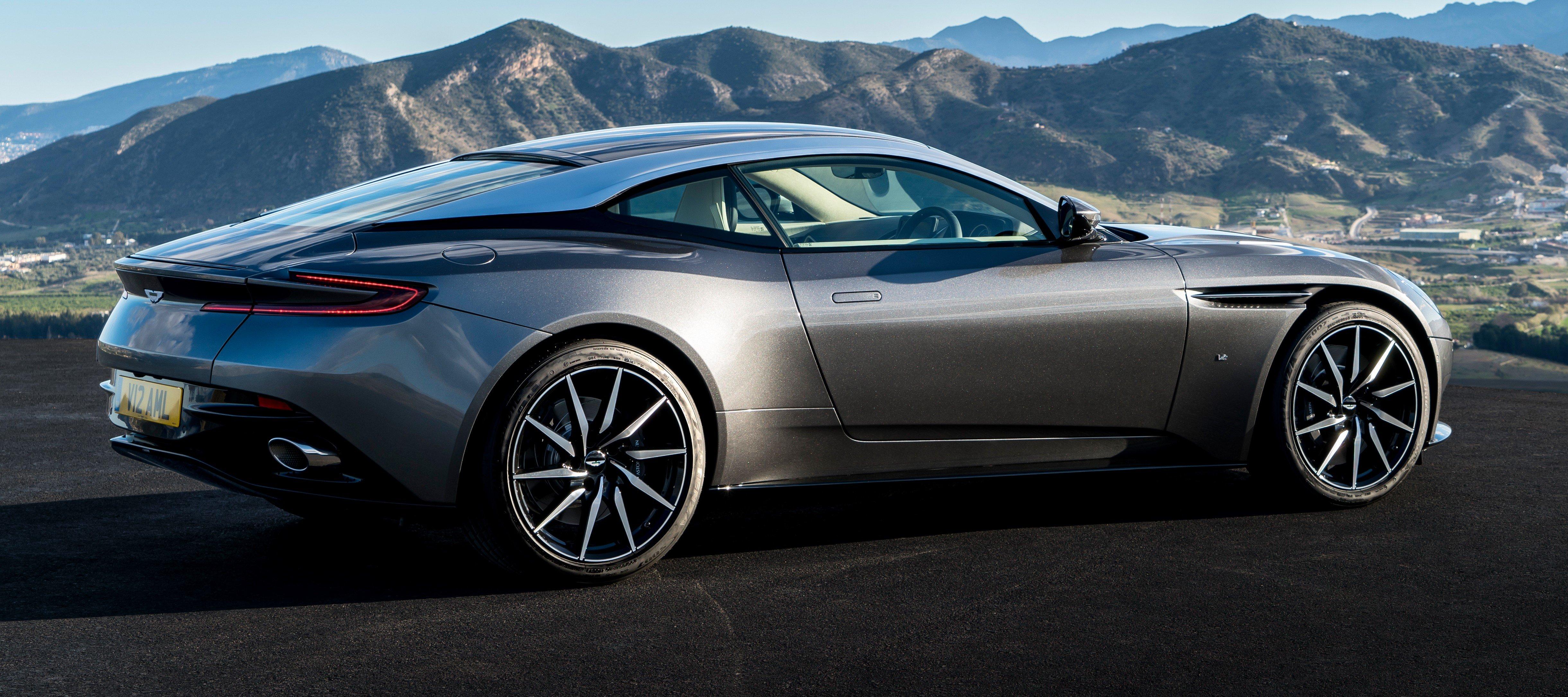 Aston Martin Db11 Breaks Cover In Geneva New 5 2 Litre
