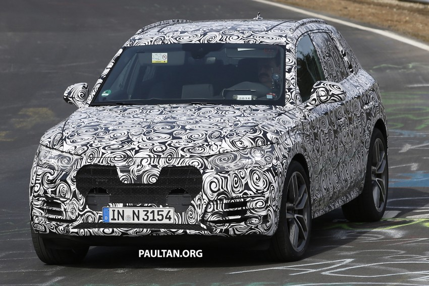 SPYSHOTS: 2017 Audi Q5 peels away some disguise Image #461482