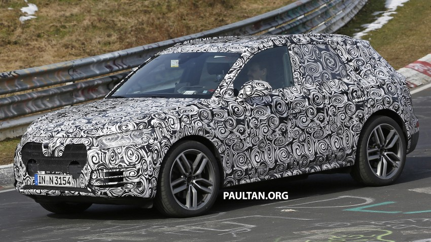 SPYSHOTS: 2017 Audi Q5 peels away some disguise Image #461484