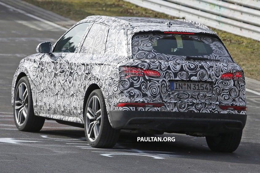 SPYSHOTS: 2017 Audi Q5 peels away some disguise Image #461491