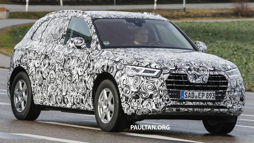 SPYSHOTS: 2017 Audi Q5 peels away some disguise Image #461467
