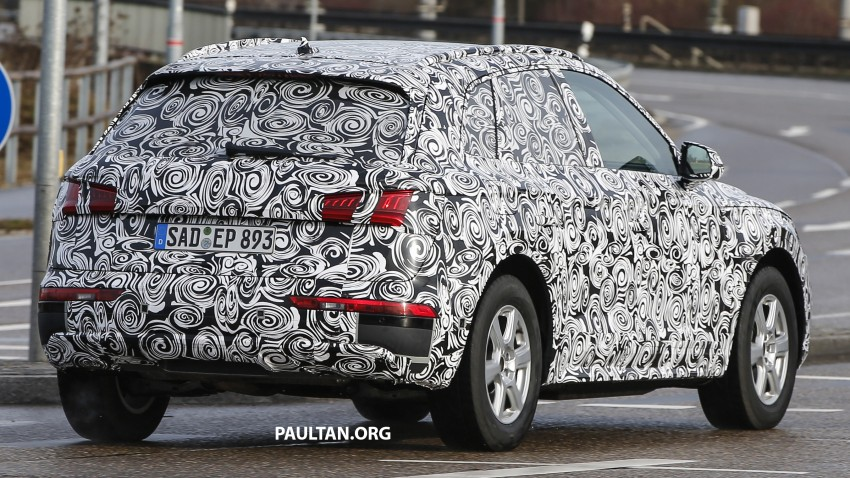 SPYSHOTS: 2017 Audi Q5 peels away some disguise Image #461475