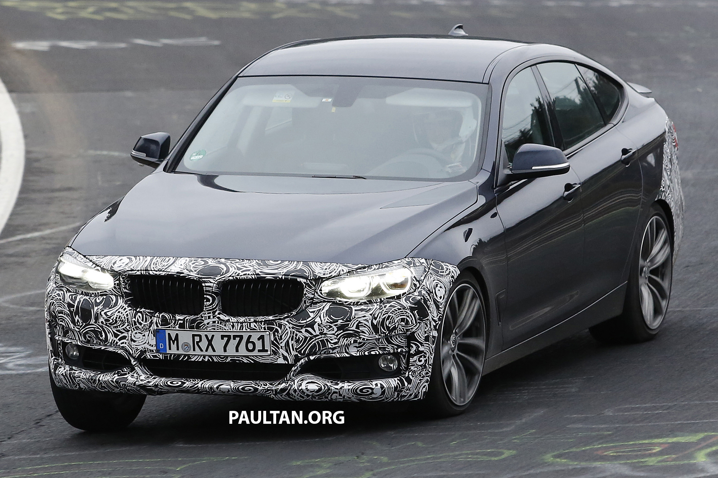 spyshots f34 bmw 3 series gt lci spotted again. Black Bedroom Furniture Sets. Home Design Ideas