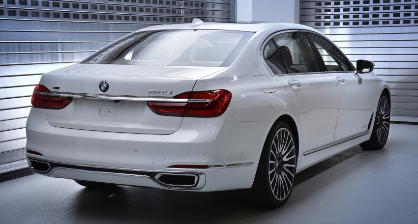 """BMW 7 Series """"Solitaire"""" and """"Master Class"""" editions Image #465029"""