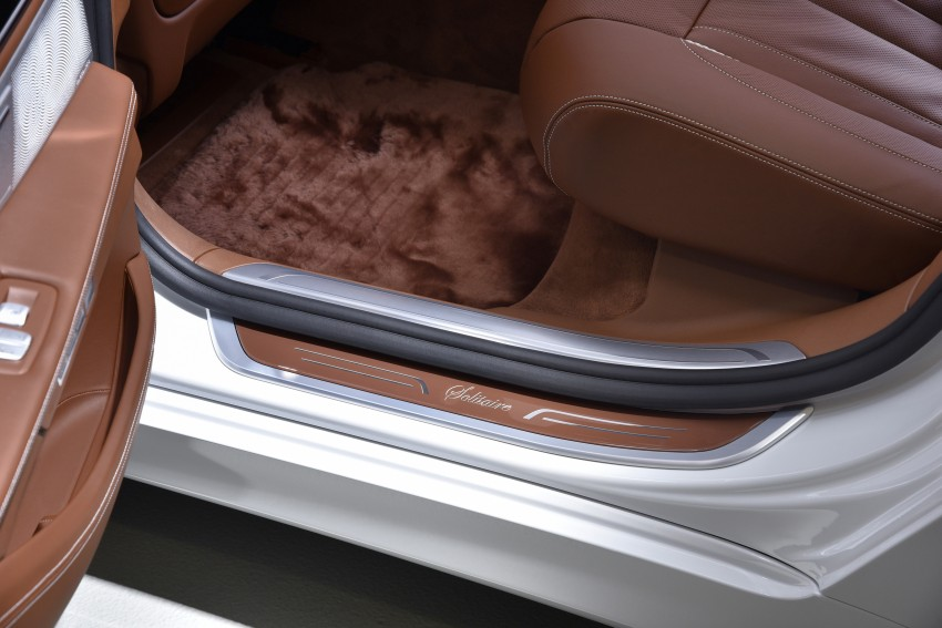"""BMW 7 Series """"Solitaire"""" and """"Master Class"""" editions Image #465032"""