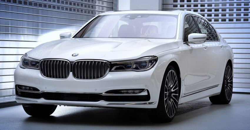 """BMW 7 Series """"Solitaire"""" and """"Master Class"""" editions Image #465020"""