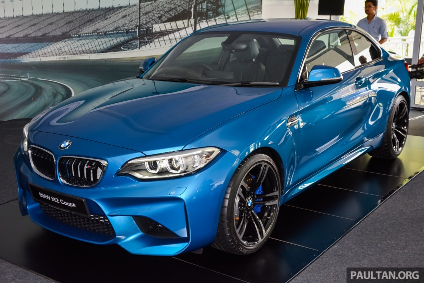 BMW M2 Coupe launched in Malaysia – RM498,800 Image #453195