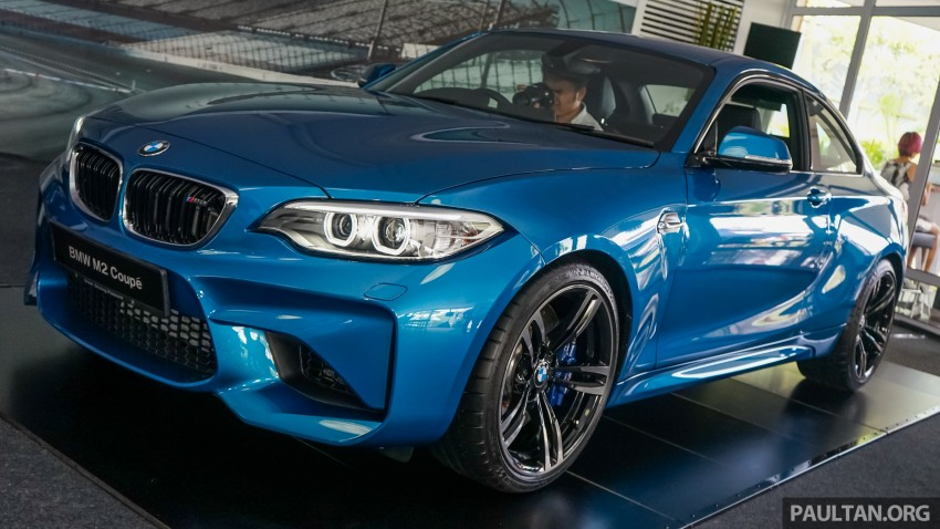 BMW M2 Coupe launched in Malaysia – RM498,800 Image #453285