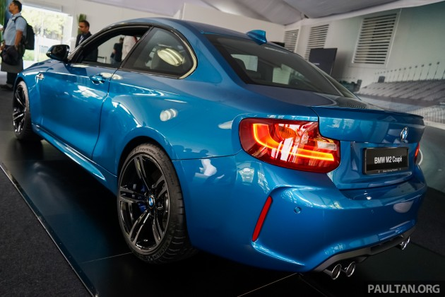 Bmw M4 2018 Coupe >> BMW M2 Coupe launched in Malaysia – RM498,800