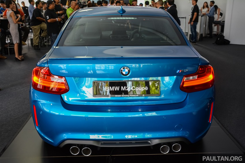 BMW M2 Coupe launched in Malaysia – RM498,800 Image #453187