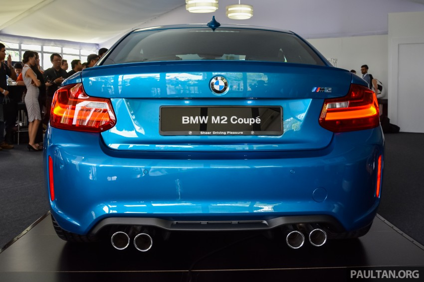BMW M2 Coupe launched in Malaysia – RM498,800 Image #453188