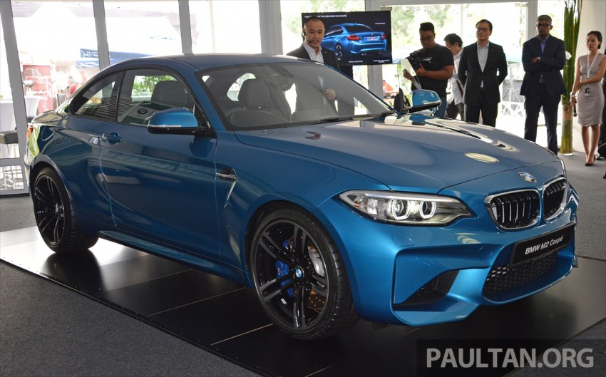 BMW M2 Coupe launched in Malaysia – RM498,800 Image #453159