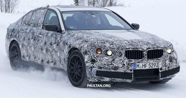 سيارة بي ام دبليو M5 F90 الجديدة كلياً  BMW-M5-003-630x332