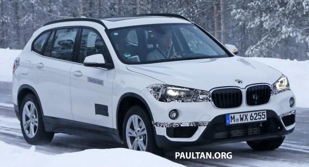 BMW X1 Plug-in Hybrid Spyshots-07