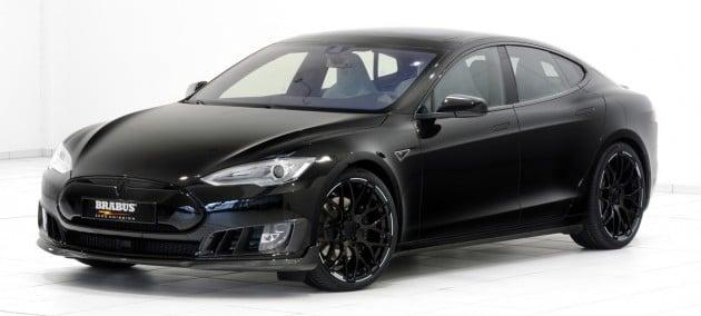 Brabus Zero Emission Tesla Model S-1