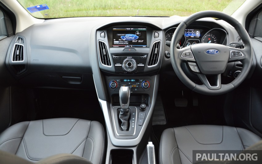 C346 Ford Focus facelift launched in Malaysia – Trend, Sport+ hatch and Titanium+ sedan, from RM119k Image #458032