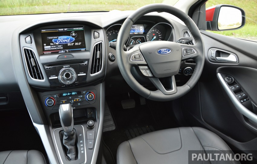 C346 Ford Focus facelift launched in Malaysia – Trend, Sport+ hatch and Titanium+ sedan, from RM119k Image #458041