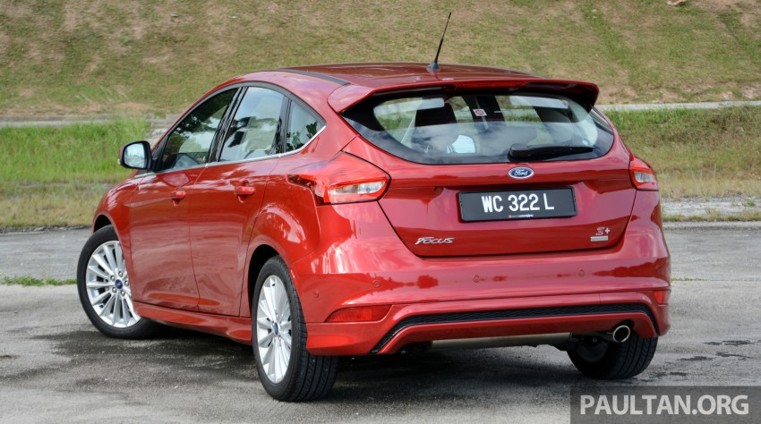 C346 Ford Focus facelift launched in Malaysia – Trend, Sport+ hatch and Titanium+ sedan, from RM119k Image #458022