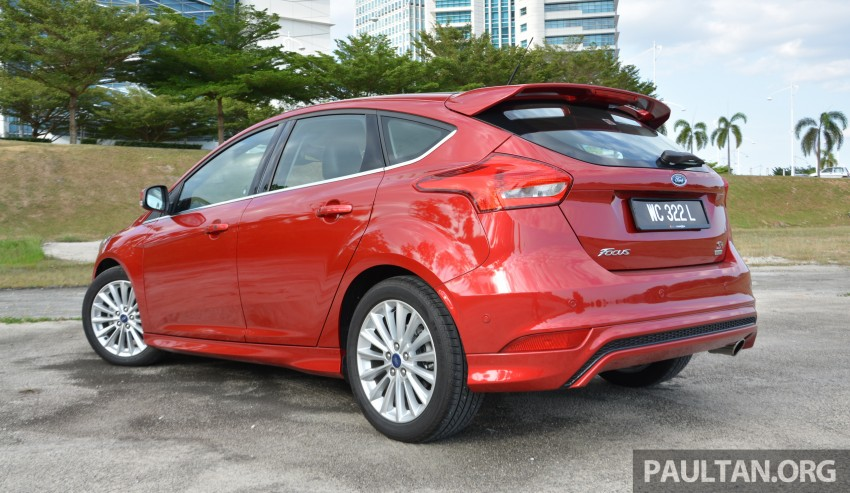 C346 Ford Focus facelift launched in Malaysia – Trend, Sport+ hatch and Titanium+ sedan, from RM119k Image #458026