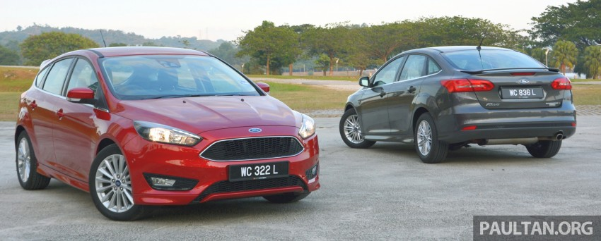 C346 Ford Focus facelift launched in Malaysia – Trend, Sport+ hatch and Titanium+ sedan, from RM119k Image #457960