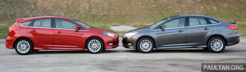 C346 Ford Focus facelift launched in Malaysia – Trend, Sport+ hatch and Titanium+ sedan, from RM119k Image #457962