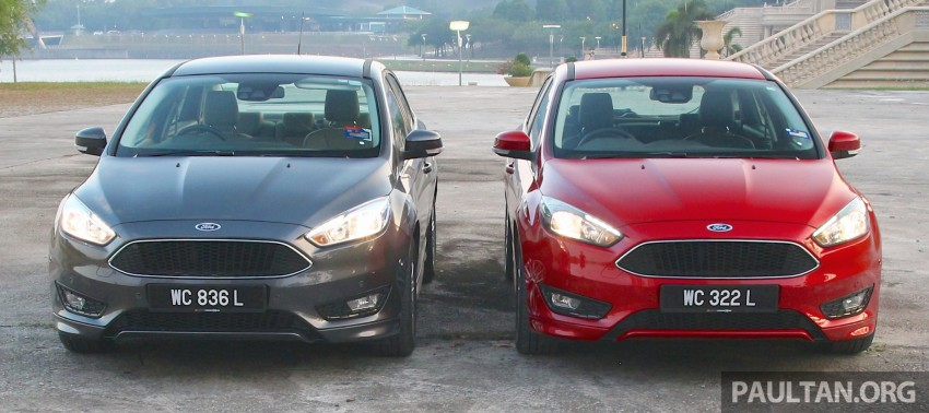 C346 Ford Focus facelift launched in Malaysia – Trend, Sport+ hatch and Titanium+ sedan, from RM119k Image #457963