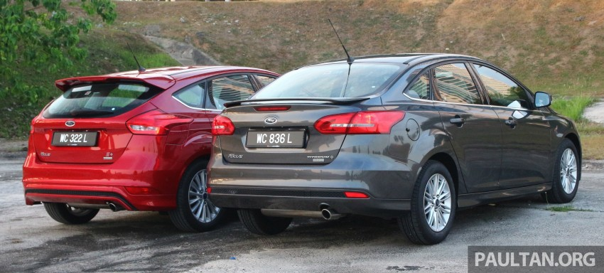 C346 Ford Focus facelift launched in Malaysia – Trend, Sport+ hatch and Titanium+ sedan, from RM119k Image #457959