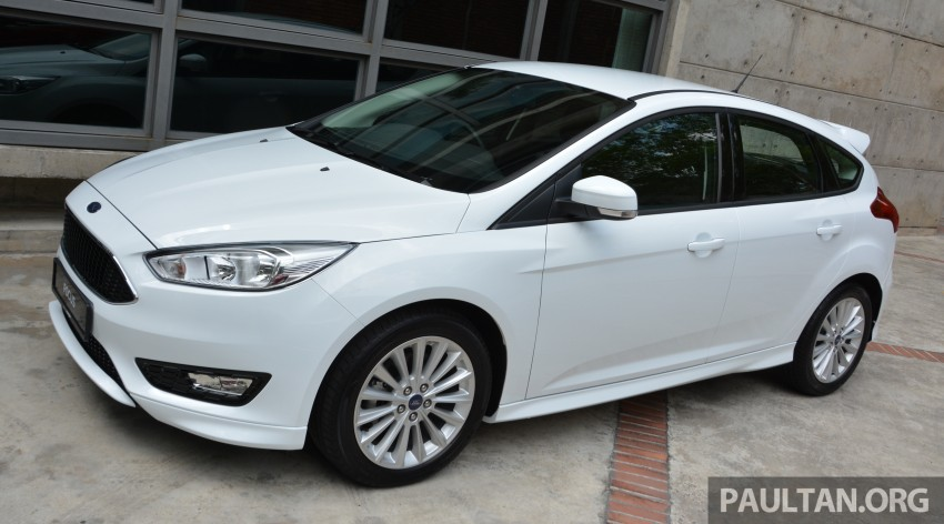 C346 Ford Focus facelift launched in Malaysia – Trend, Sport+ hatch and Titanium+ sedan, from RM119k Image #458494