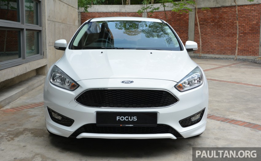 C346 Ford Focus facelift launched in Malaysia – Trend, Sport+ hatch and Titanium+ sedan, from RM119k Image #458497