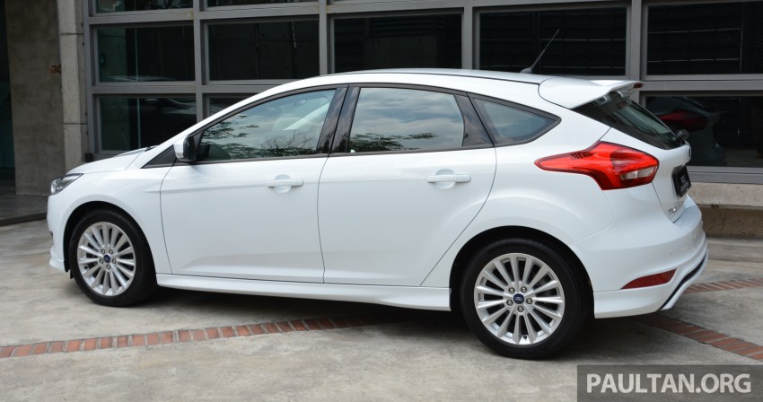 C346 Ford Focus facelift launched in Malaysia – Trend, Sport+ hatch and Titanium+ sedan, from RM119k Image #458498