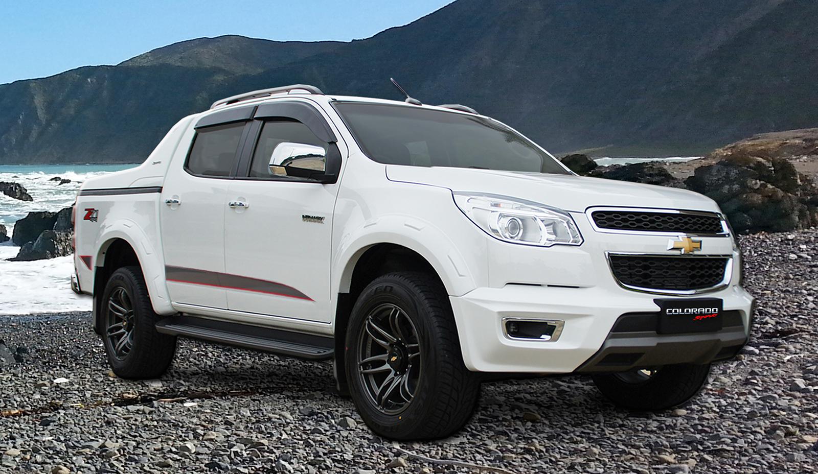 Chevrolet Colorado konsep prebiu bagi facelift Image 461455