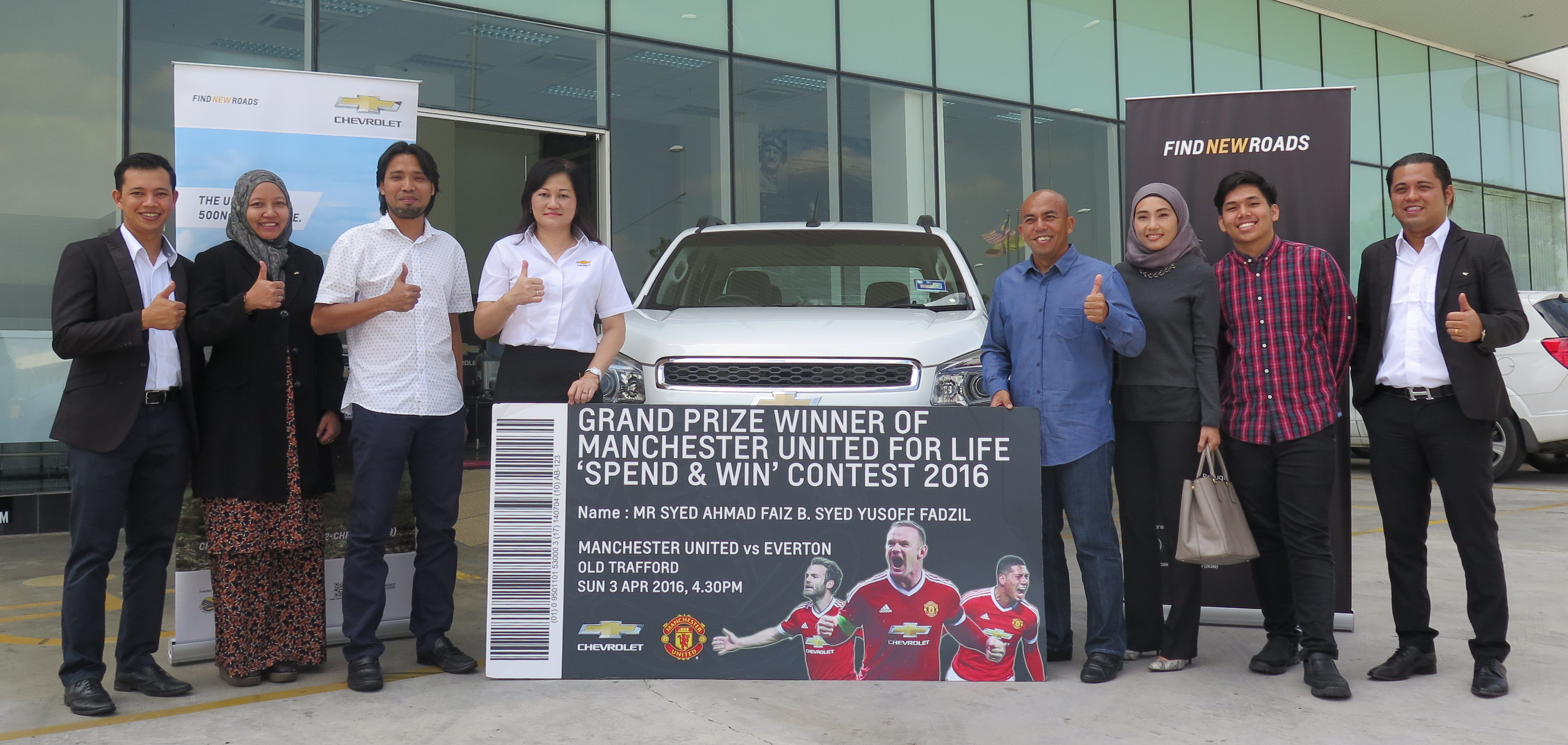 Chevrolet Man United for Life winner announced