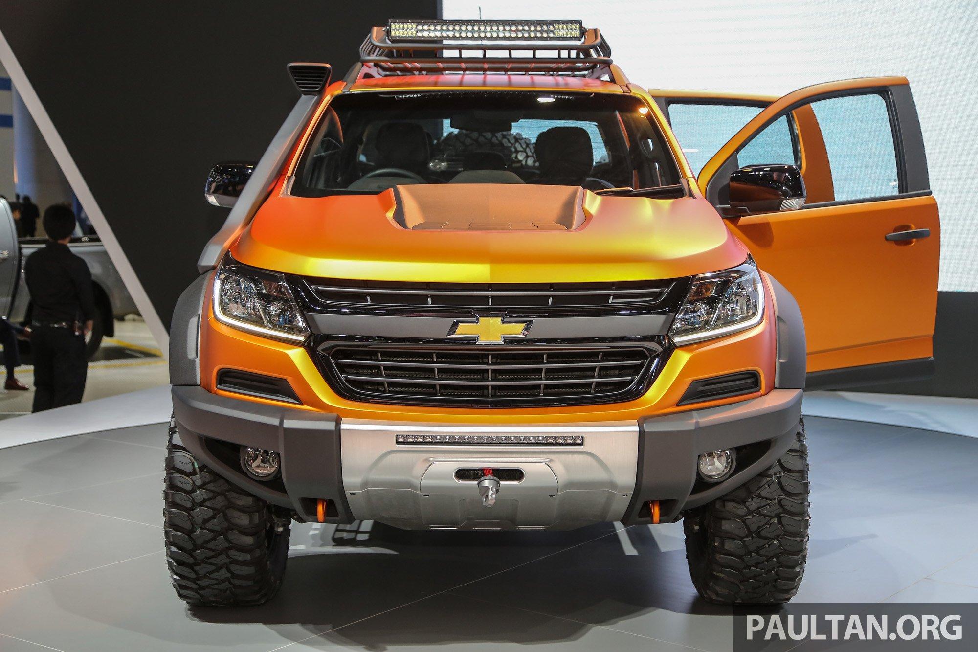 Chevrolet Colorado Xtreme and Trailblazer Premier – dressed-up show ...