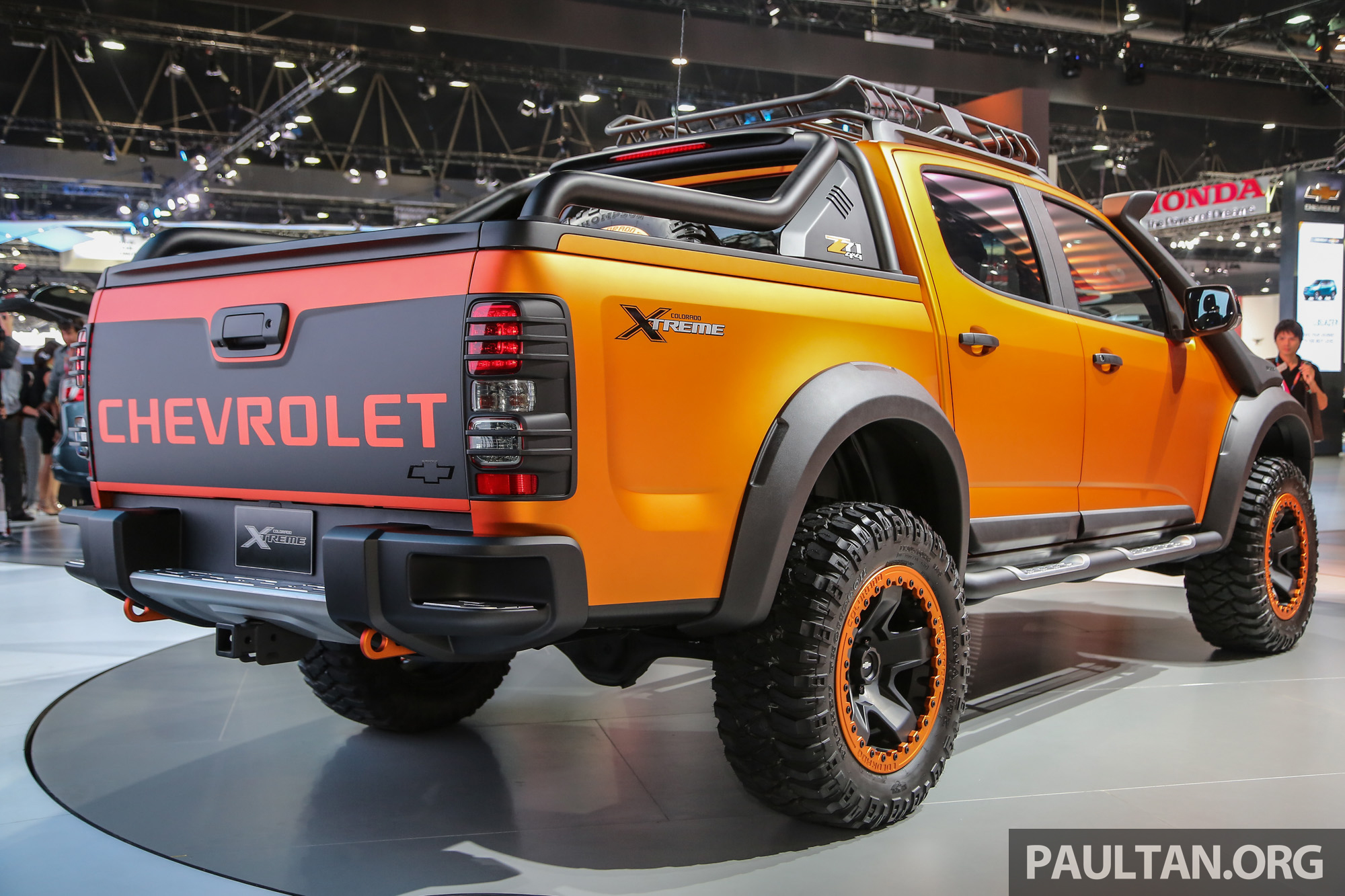Chevrolet Colorado Xtreme and Trailblazer Premier – dressed-up show ...