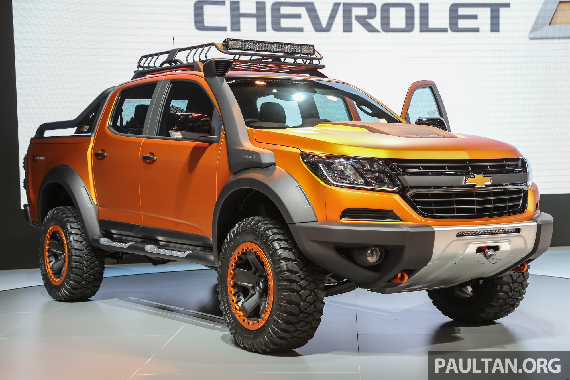 Colorado Tax Calculator >> Chevrolet Colorado Xtreme and Trailblazer Premier - dressed-up show duo make their debut in Bangkok