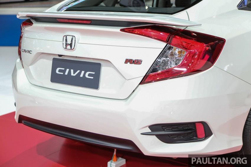GALLERY: 2016 Honda Civic at Bangkok Motor Show Image #463948