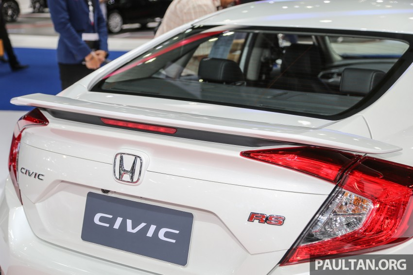 GALLERY: 2016 Honda Civic at Bangkok Motor Show Image #463952