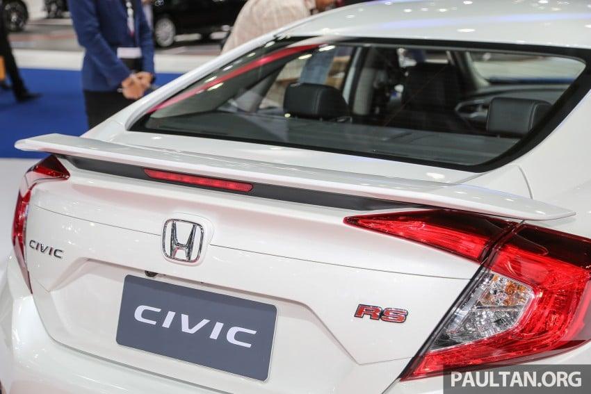 GALLERY: 2016 Honda Civic at Bangkok Motor Show Image #463952