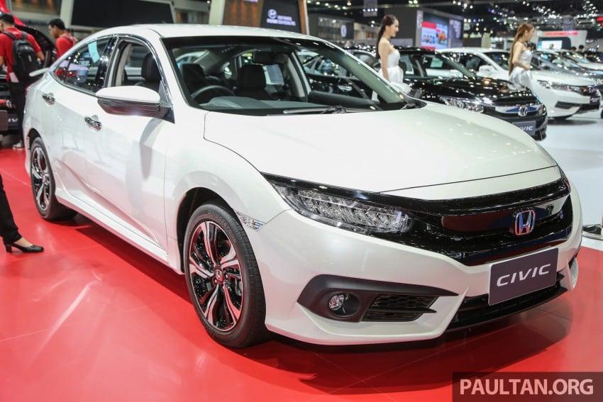GALLERY: 2016 Honda Civic at Bangkok Motor Show Image #463933